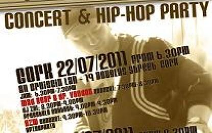 Hip-Hop na żywo! Cork i Dublin!