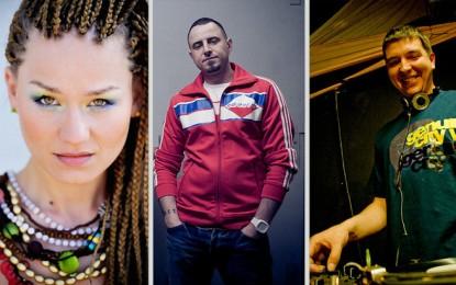 Wyjątkowe trio: AbradAb z Kaliber 44, Marika i DJ. Bart w Dublinie!