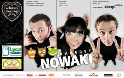 Wesprzyj WOŚP i przyjdź na kabaret Nowaki!