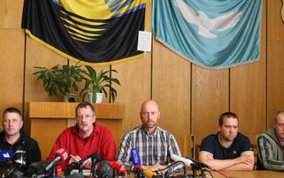 Uwolniono porwanych zakładników w Doniecku