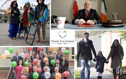 Thank you Ireland ! Ambasada RP dziękuje za ciepłe przyjęcie Polaków !