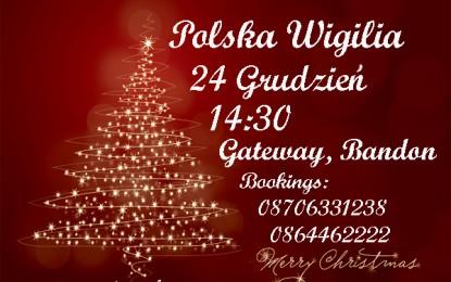 Zaproszenie na Polską Wigilię